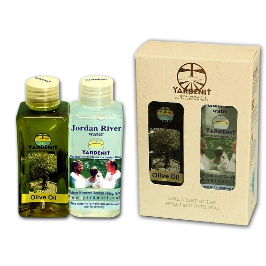 yardenit water oil white pack