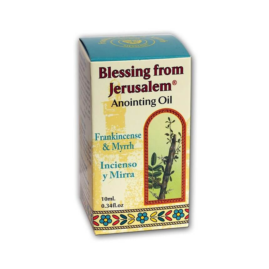 Frankincense and Myrrh Anointing Oil: Blessing From Jerusalem