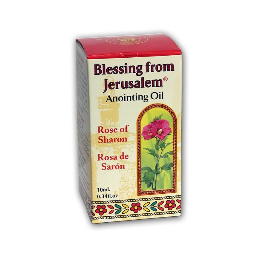 anointing oil rose of sharon 10 ml