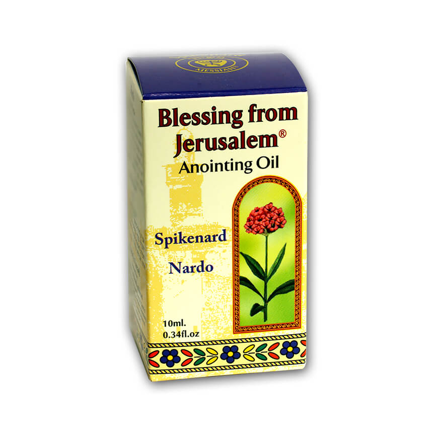 Blessing From Jerusalem, Spikenard Of Mary Anointing Oil