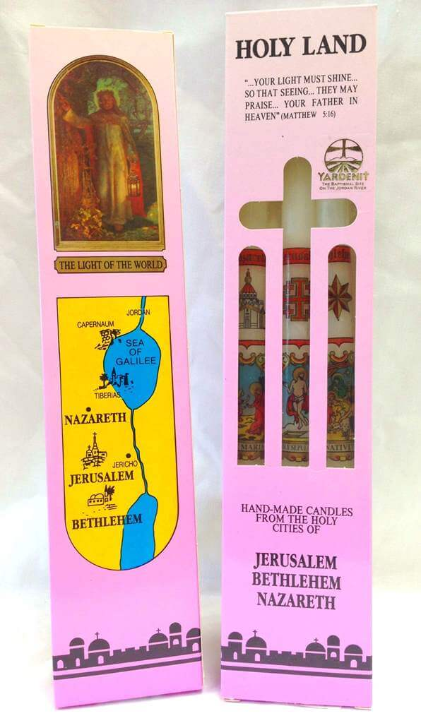 Holy Land Hand- Made Candles