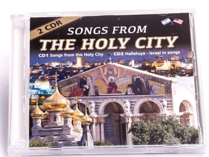 Songs from the Holy City CD