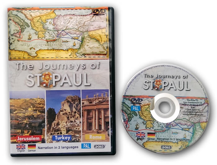 the journeys of st paul dvd