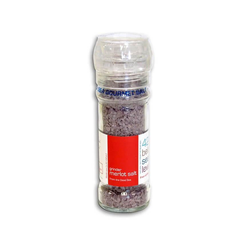 Dead Sea Gourmet Merlot Salt