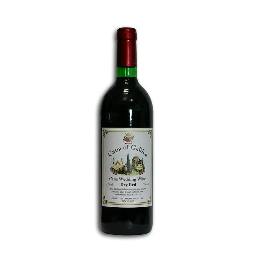 Dry Red Cana Wine, 750 ml