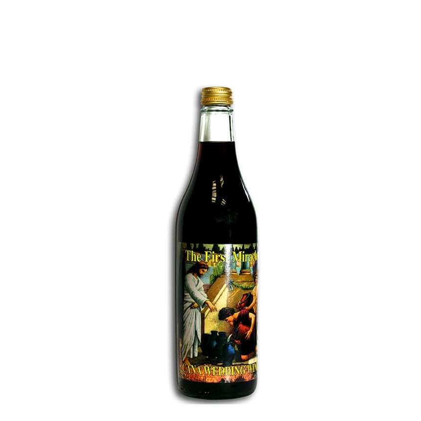 Cana Wedding Sweet Red Wine. 750 ml