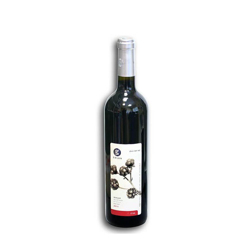 Golan Merlot Wine