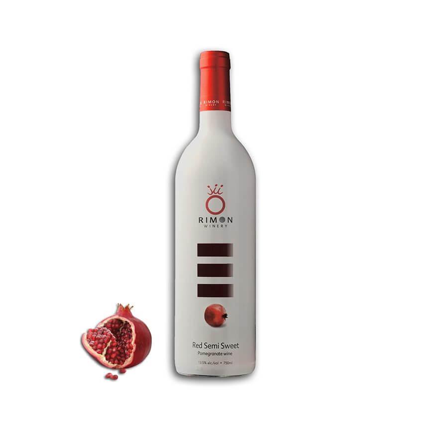 Red Semi-Sweet Pomegranate Wine