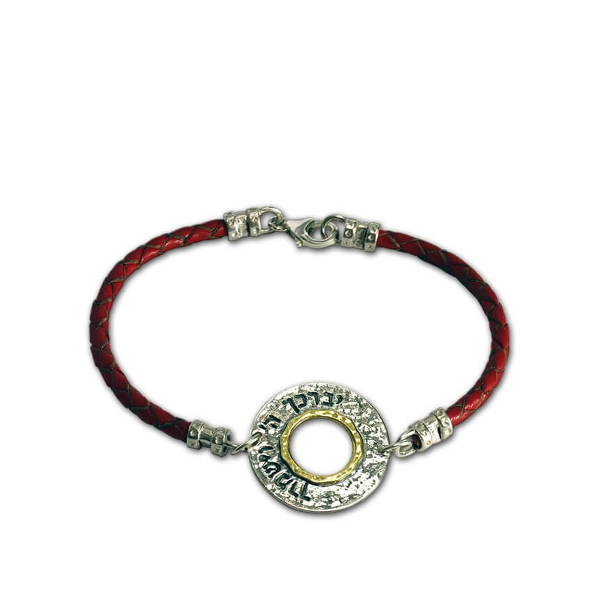 The Aaronic Blessing Bracelet, red