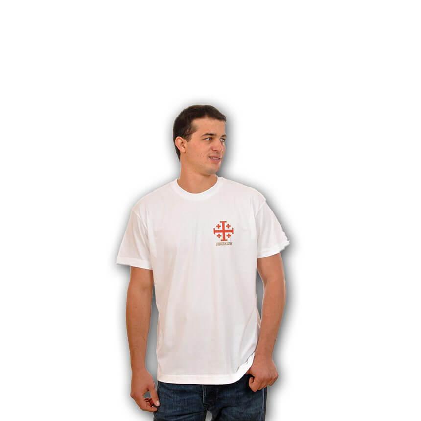 Small Jerusalem Cross T-Shirt