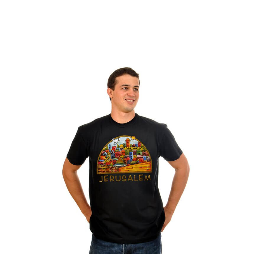 Colorful Jerusalem T-Shirt