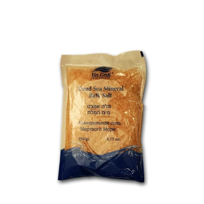 Ein Gedi dead sea mineral bath Orange salt