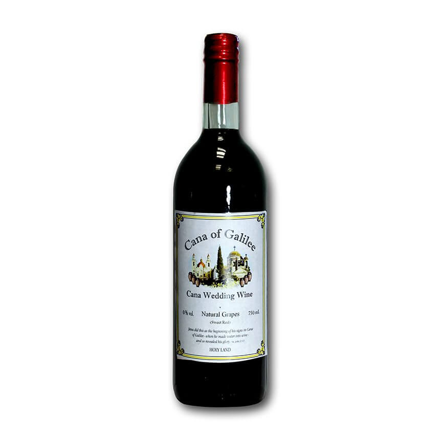 cana of galilee natural grapes 750 ml