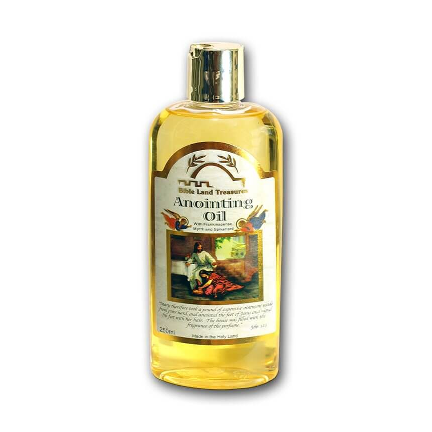 anointing oil 250 ml, bible land treasures