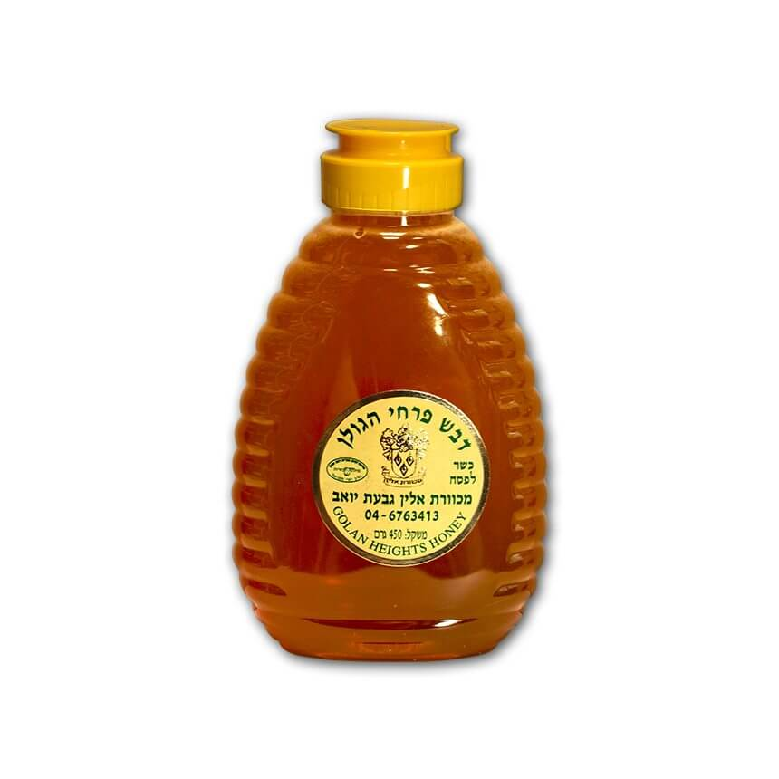 golan height honey squees bottle