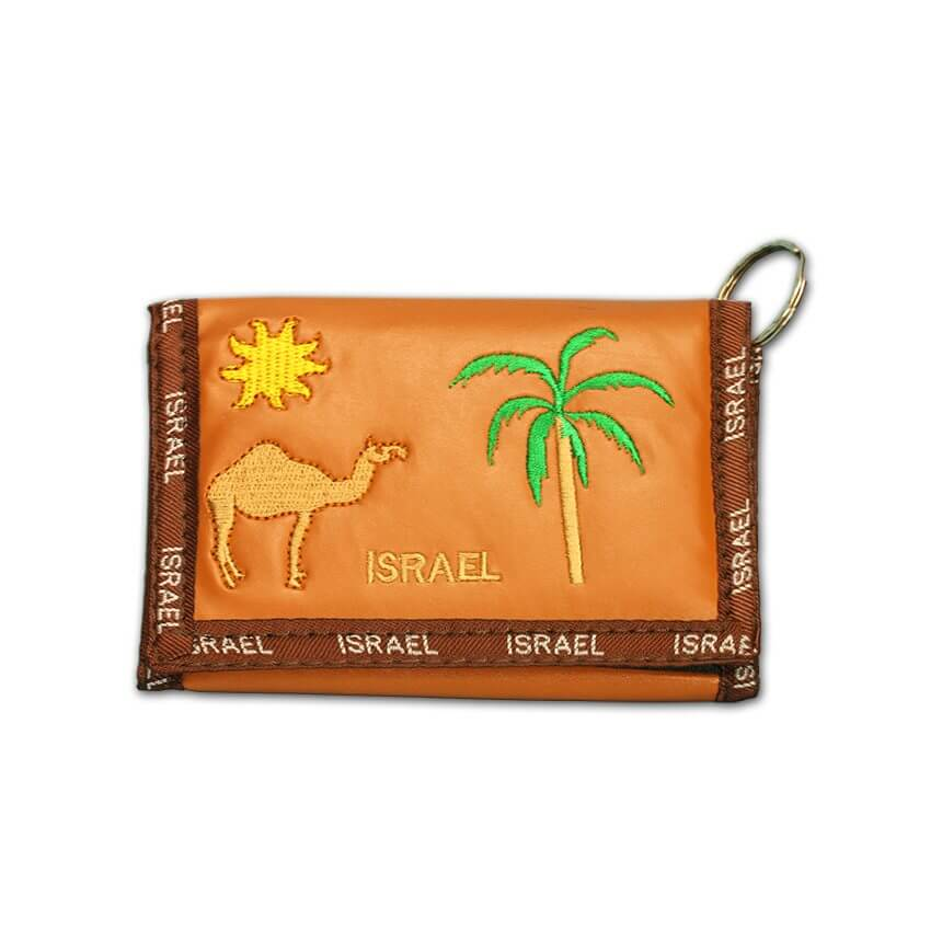 camel brown wollet