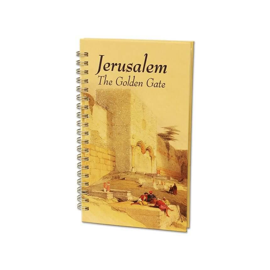 jerusalem the golden gate note pad