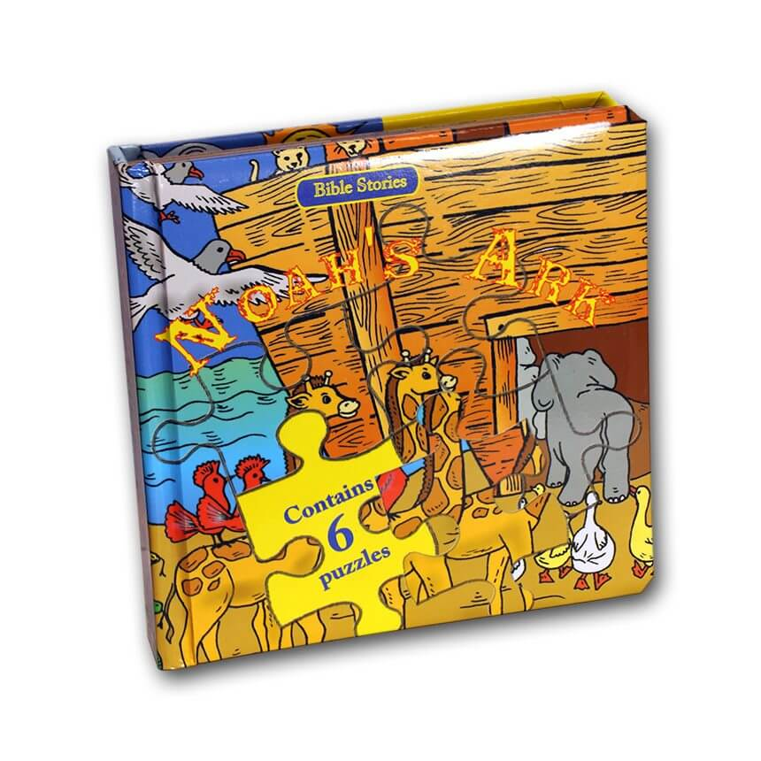 puzzles book noah's ark