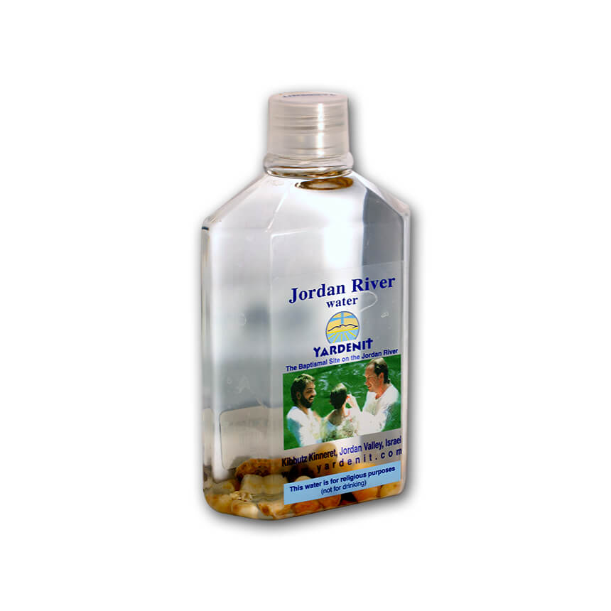 holy water from the jordan river