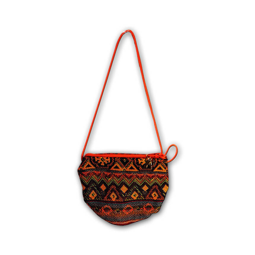 small size orange bag