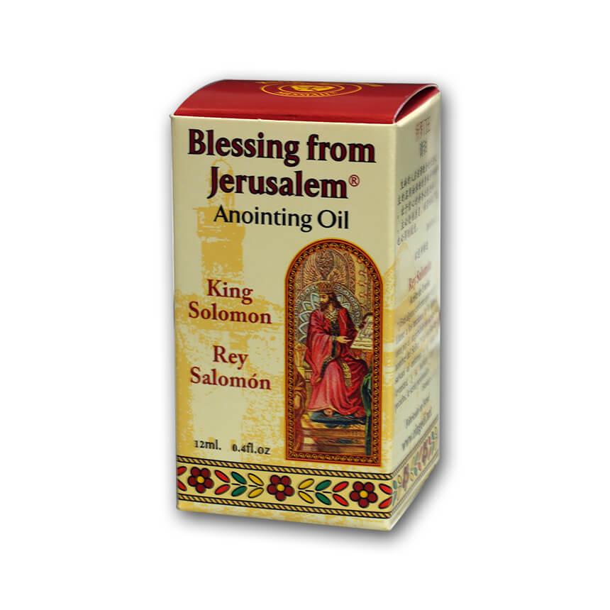 King Solomon Anointing Oil, 12 ml